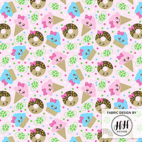 Cute Treats Fabric