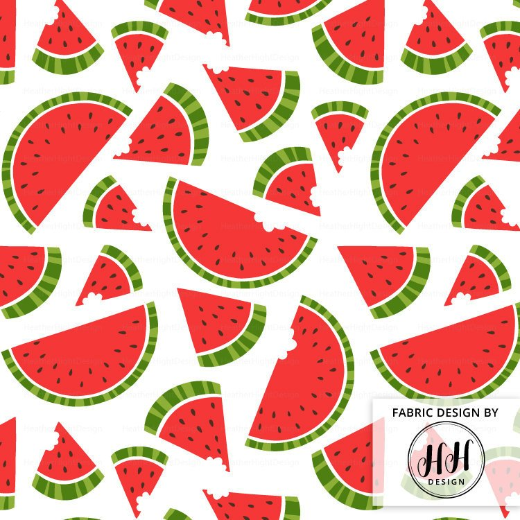 Summer Watermelon Fabric