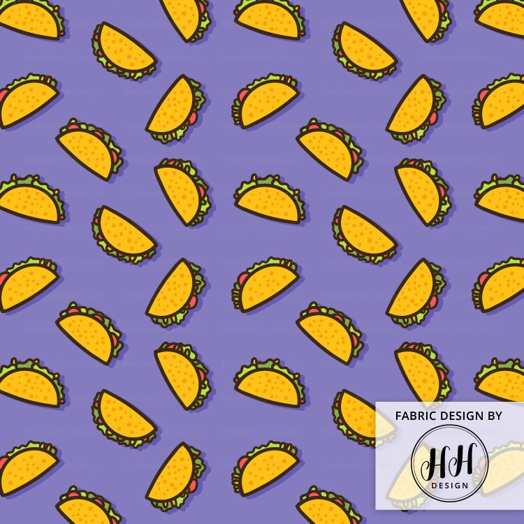 Taco Party Fabric