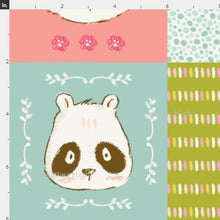 Load image into Gallery viewer, Woodland Animals Cheater Quilt Fabric