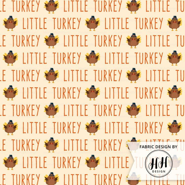 Little Turkey Fabric