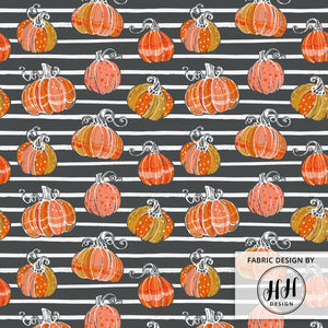 Autumn Pumpkin Fabric