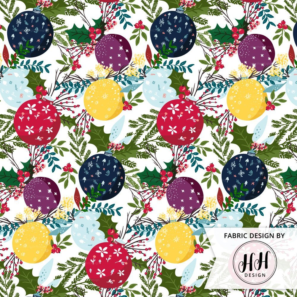 Ornament Floral Fabric