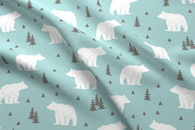 Load image into Gallery viewer, Woodland Bear Fabric