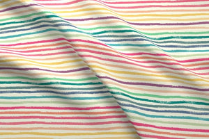 Crayon Lines Fabric