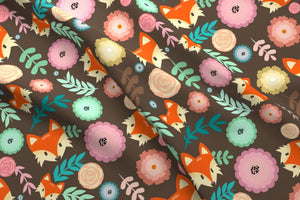 Fall Fox Fabric