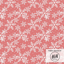 Load image into Gallery viewer, Christmas Snowflake Fabric