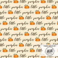 Load image into Gallery viewer, Little Pumpkin Fabric