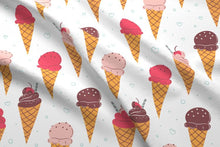 Load image into Gallery viewer, Ice Cream Fabric