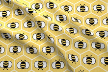 Load image into Gallery viewer, Bumble Bee Fabric
