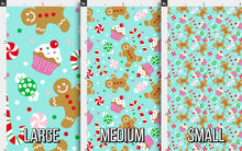 Load image into Gallery viewer, Christmas Sweets Fabric
