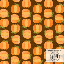 Load image into Gallery viewer, Autumn Pumpkin Patch Fabric