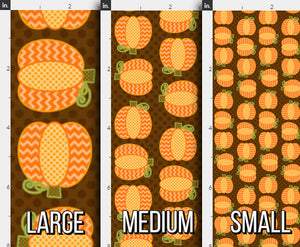 Autumn Pumpkin Patch Fabric