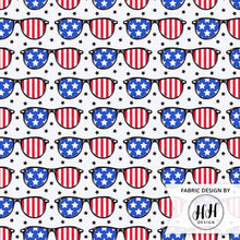 Load image into Gallery viewer, Patriotic Sunglasses Fabric