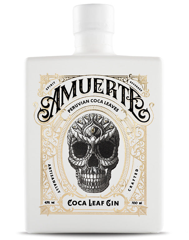 Amuerte - Coca Leaf Gin - White Edition