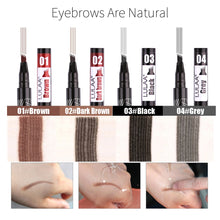Load image into Gallery viewer, Waterproof Microblade Effect Eyebrow Filler Pen