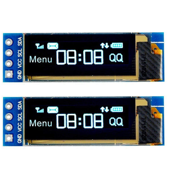 2Pcs I2C OLED Display Module