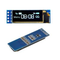 MakerFocus 2Pcs I2C OLED Display Module 0.91 Inch I2C SSD1306 OLED Display Module