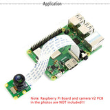 MakerFocus Raspberry Pi Camera Board V2 Wide Angle 160 Degree FoV Supporting Video Record