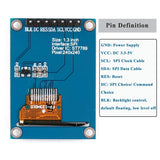 MakerFocus 1.3inch TFT LCD Display Module 3.3V with SPI Interface ST7789 IC Driver
