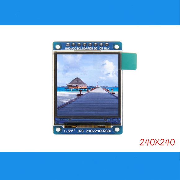 1.54inch SPI 240x240 RGB TFT LCD Display Module ST7789 Full Viewing  3.3V IPS