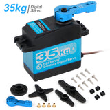 Digital Servo 35KG Full Metal Gear High Torque Waterproof DS3235 with 25T Servo Arm for RC Car