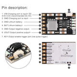 MakerFocus 6pcs 2A 5V Charging Protection Module for 18650 Lithium Battery Power Protection