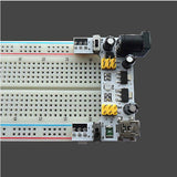 MakerFocus 2Pcs 2 Channel 5V/3.3V Breadboard Power Supply Module for Arduino