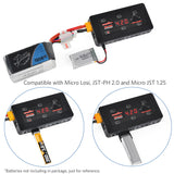 ULTRA POWER UP-S6 1S LiPo Battery Charger LiPo/LiHV Charger for Micro Losi Connector