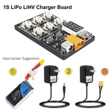 1S LiPo LiHV Charger Board with JST and Micro Losi Cable