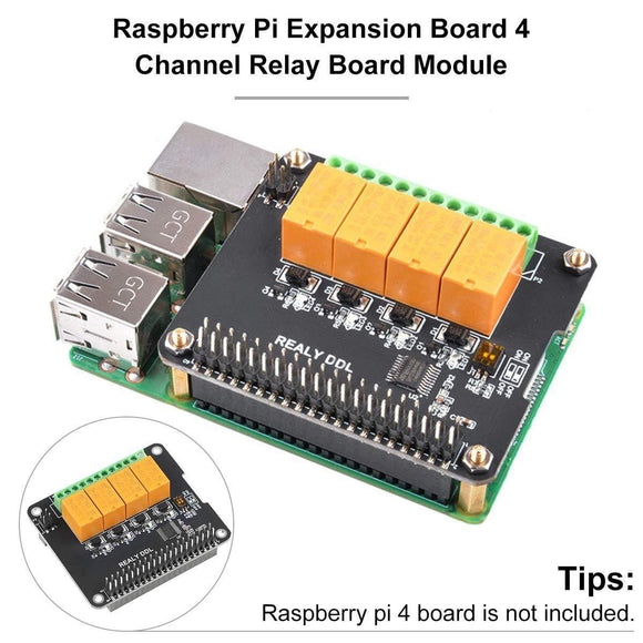 4 Channel Relay Board Module