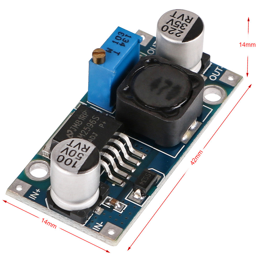 10pcs lm2596 DC-DC BUCK converter high efficiency voltage regulator supply STEP Down module