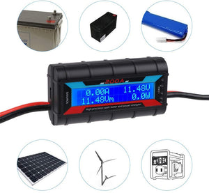 200A High Precision Power Analyzer Watt Meter Battery Consumption Performance Monitor with LCD