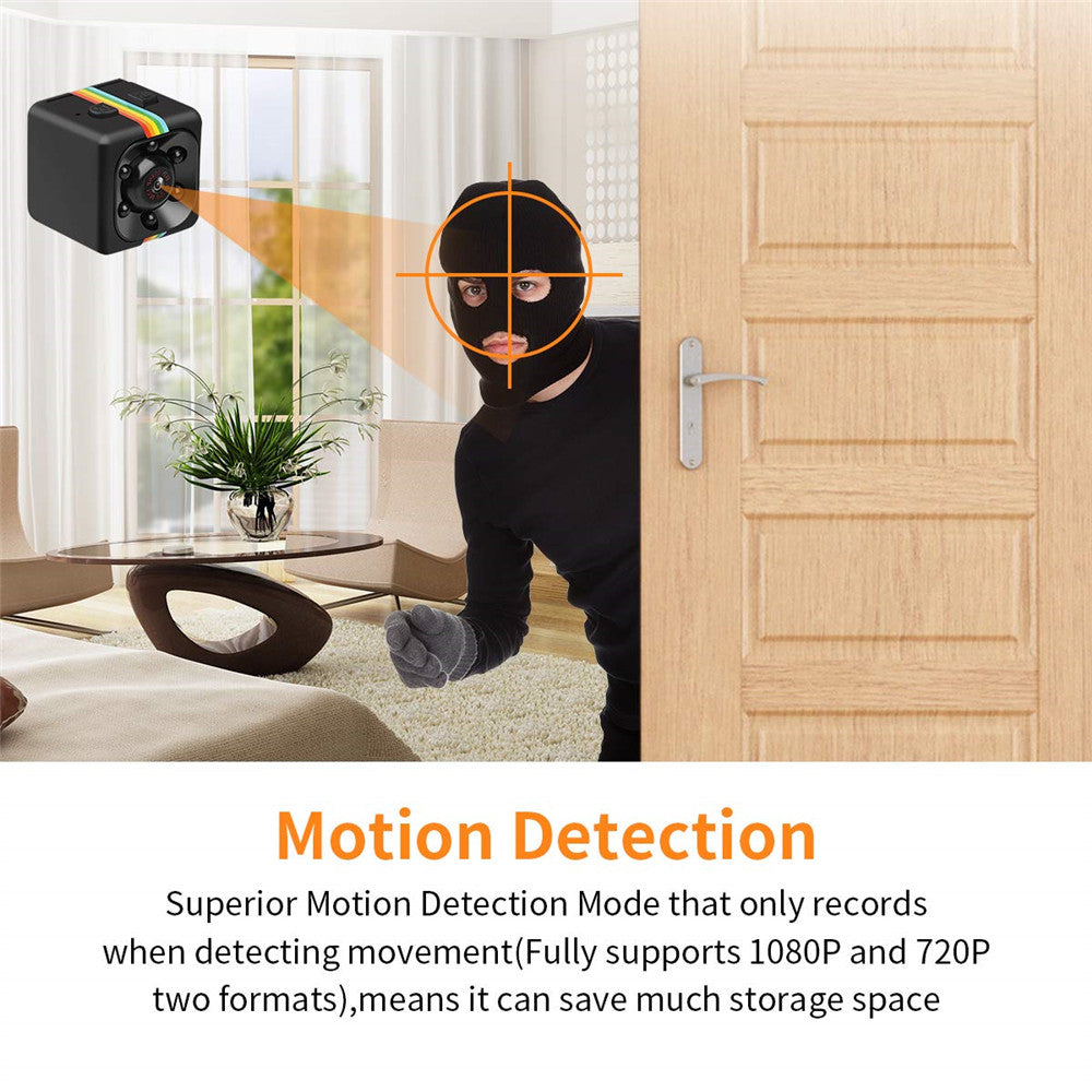 Spy Camera SQ11 Mini Spy Camera Secret Camera 1080P Mini Camera with IR Night Vision Motion