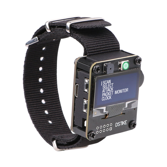 WiFi Test Tool ESP8266 Development Board  Deauther  Watch DSTIKE NodeMCU  Built in 500mAh Battery