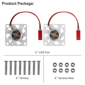 Raspberry Pi 4 Fan Raspberry Pi Cooling Fan for Raspberry Pi 4B / 3B+ / 3B /2B+