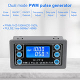 PWM Signal Generator Pulse Square Wave Rectangular Adjustable Signal Generator Dual  for Robot Arm