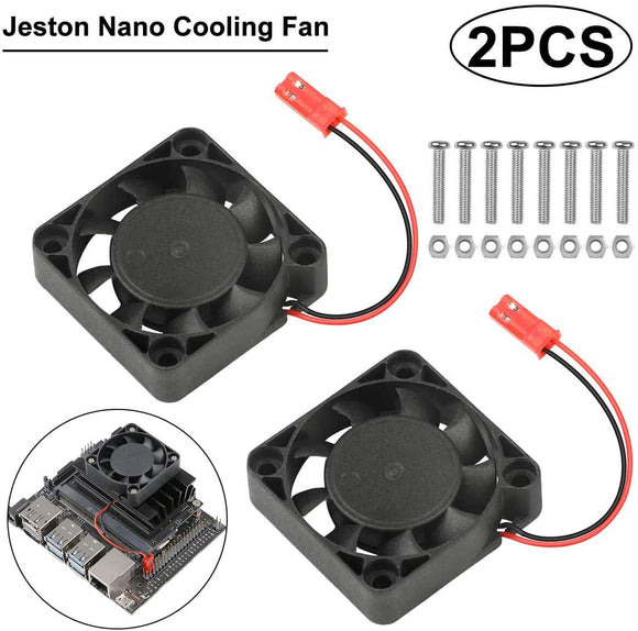 Raspberry Pi 4 Fan 5V DC Cooling Fan Robot Project