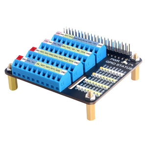 Raspberry Pi 4 GPIO Expansion Board Breakout GPIO Screw Terminal Hat