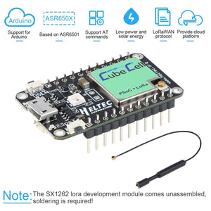 Arduino SX1262 lora development module with antenna