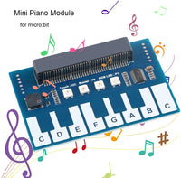 Mini Piano Module for micro:bit with RGB LED buzzer