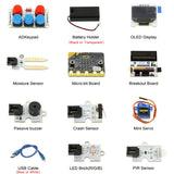 MakerFocus BBC Micro:bit Starter Kit Tinker Kit for for DIY Beginners