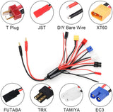 8 in 1 Charger Adapter Connector Splitter Cable for RC Lipo Battery Multi Charger to 4.0mm