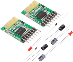 2pcs Bluetooth Receiver Board 5V Wireless Stereo Music Module 4.0 Audio