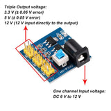 MakerFocus 4pcs DC-DC Voltage Converter Power Supply Module 12 V to 3.3 V/5 V/12 V for Arduino