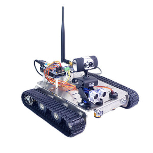 Arduino GFS WiFi Wireless Video Control Smart Robot Tank Kit