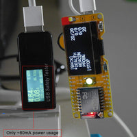 MakerFocus ESP8266 Development Board DSTIKE WiFi Deauther Mini with 1.3inch OLED Display
