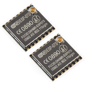 2pcs ESP8266 ESP-07S Serial WiFi Wireless Transceiver Module
