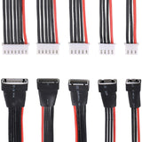 Innovateking 5PCS JST-XH 2S 3S 4S 5S 6S LiPo Battery Balance Charger Extension Cable