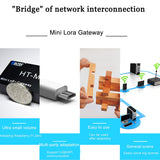 MakerFocus Lora Gateway LoraWan Measure Distance 17KM with 868MHz Antenna for Raspberry Pi